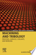 Machining and Tribology Book