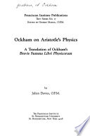 Ockham on Aristotle s Physics