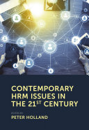 Contemporary HRM Issues in the 21st Century