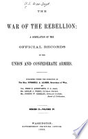 The War of the Rebellion  Correspondence  orders  reports and returns  Union and Confederate  relating to prisoners of war and to state or political prisoners  8 v