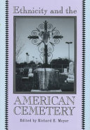 Ethnicity and the American Cemetery