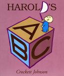 Harold s ABC Board Book Book
