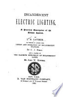 Incandescent Electric Lighting