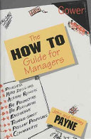 The 'how To' Guide for Managers