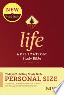 NIV Life Application Study Bible  Third Edition  Personal Size  Softcover  Book PDF