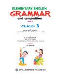 Elementary English Grammar Class 3