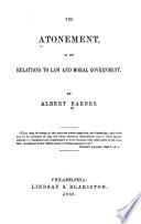 The Atonement Book