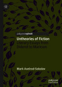Pdf Untheories of Fiction Telecharger