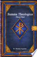 Summa Theologica  Third Part