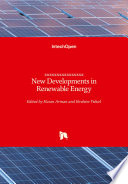 New Developments In Renewable Energy Book PDF