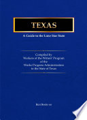 Texas  a Guide to the Lone Star State