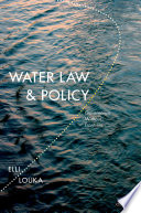 Water Law And Policy Governance Without Frontiers