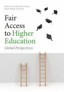 Fair Access to Higher Education