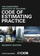 Code of Estimating Practice [Pdf/ePub] eBook
