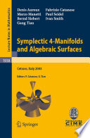 Symplectic 4 Manifolds And Algebraic Surfaces