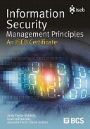 Information Security Management Principles An ISEB Certificate