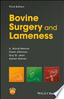 Bovine Surgery and Lameness
