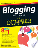 """""""Blogging All-in-One For Dummies"""" by Susan Gunelius"""
