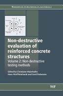 Non destructive Evaluation of Reinforced Concrete Structures  Non destructive testing methods