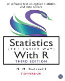 Statistics (the Easier Way) with R, 3rd Ed