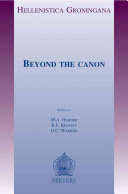 Beyond the Canon