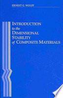 Introduction To The Dimensional Stability Of Composite Materials Book PDF