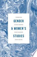 Introducing Gender And Women S Studies