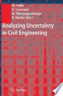 Analyzing Uncertainty in Civil Engineering Book