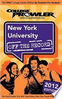New York University 2012
