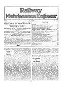 Pdf Railway Engineering and Maintenance