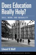 Does Education Really Help? Pdf/ePub eBook