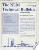 The Nlm Technical Bulletin
