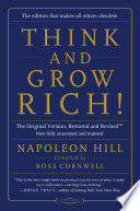 """""""Think and Grow Rich!: The Original Version, Restored and RevisedTM"""" by Napoleon Hill, Ross Cornwell"""