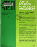 Journal of Clinical   Laboratory Immunology Book