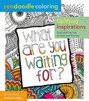 Zendoodle Coloring  Uplifting Inspirations Book PDF