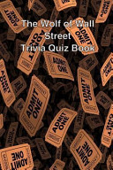 The Wolf of Wall Street Trivia Quiz Book
