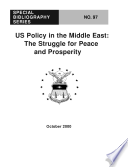 Us Policy In The Middle East Book PDF