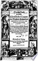 Stamm Buch, Darinnen Christlicher Tugenden Beyspiel, Einhundert außerlesener Emblemata
