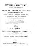 A Natural History, General and Particular