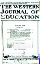 Western Journal of Education