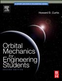 Cover of Orbital Mechanics for Engineering Students