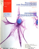 Canadian Journal of Physiology and Pharmacology Book