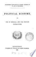 Political economy Book PDF