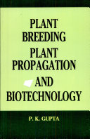 Plant Breeding Plant Propagation and Biotechnology