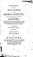 History of the Captivity and Sufferings of Mrs. Maria Martin