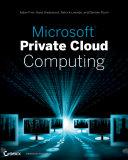 Microsoft Private Cloud Computing
