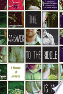 The Answer to the Riddle is Me Book