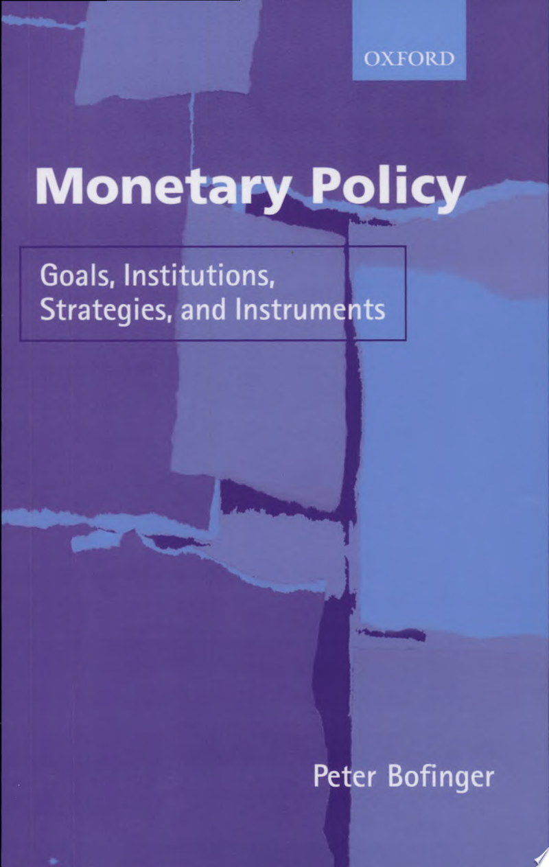 Monetary Policy banner backdrop