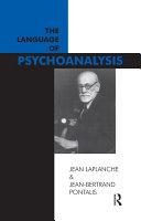 The Language of Psychoanalysis