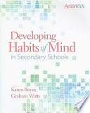 Developing Habits Of Mind In Secondary Schools